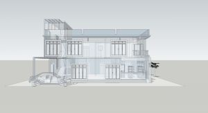 Montažna hiša načrt